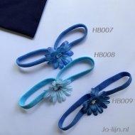 Haarbandjes blauw baby haarbandje, babyaccessoires, elastieken haarband, haaraccessoires, haarband, haarbandje baby, haarbandjes, kinder haarband