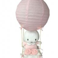 Luchtballon Nijntje roze babyshower, kraampakket, luchtballon, luchtballon nijntje mint, luiers in luchtballon, Nijntje