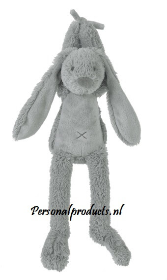 Rabbit Richie muziekknuffel met naam en datum happy horse, happy horse met naam, konijn, rabbit, rabbit richie met naam, richie