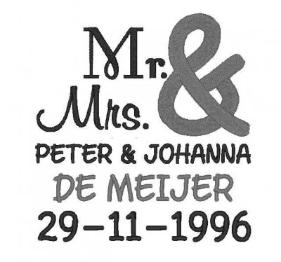 Trouw kussen bruidskussen, met naam en datum, ringkussen, trouwkussens