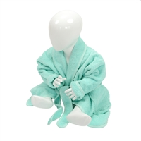 Baby badjas met sjaalkraag babiezz, baby badjas, baby badjasjes, badjas met naam