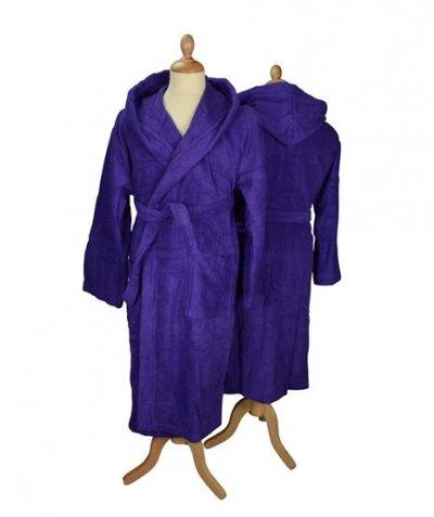 Badjas met capuchon in kleur Badjas, badjas met capuchon, badjas met naam, dames badjas, heren badjas