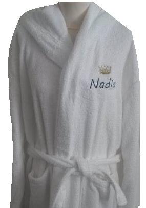 ab0e7d6f98a Badjas met sjaalkraag badjas met naam, kinder badjas, kinderbadjas,  kinderbadjas met naam,