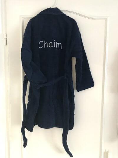 Kinder badjas met sjaalkraag badjas met naam, kinder badjas, kinder badjas met naam, kinderbadjas, kinderbadjas met naam, zwemmen