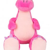 Shakira de dinosaurus cubbies, dino de dinosaurus, met naam, roze, Shakira de dinosaurus