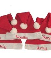 Baby first kerst muts kerst mutsen, met naam, muts, muts met naam, mutsen, mutsje, mutsjes