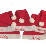 Kerstmuts met naam Kerstmuts, kerstmuts met naam, kerstmutsje, met naam, muts, mutsen, mutsje