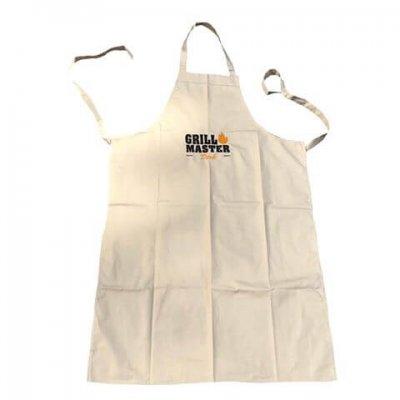 Keukenschort voor de grillmaster barbecue schort, bbq schort, grill master, hobby schort, keukenschort, kookschort, met naam, schort