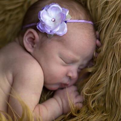 Smal haarbandje lief roosje babyhaarbandje, ballet, bruidsmeisje, bruiloft, dans, fotoshoot, geboorte, haarband, kanten haarband, Kanten haarbandje, satijnen strik, strik, verjaardag