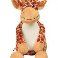Zippie giraffe giraffe, knuffel, knuffel met naam, MM564, mumbles, tummiezz